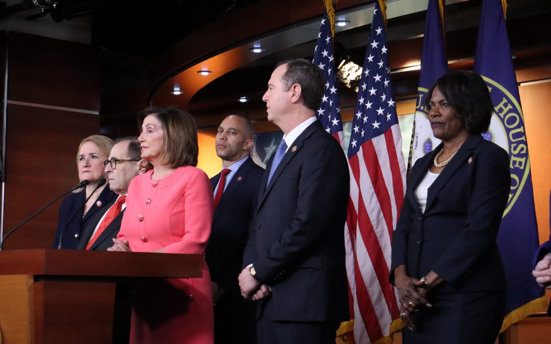 Pelosi names impeachment managers: Schiff, Nadler and five others will take case to Senate