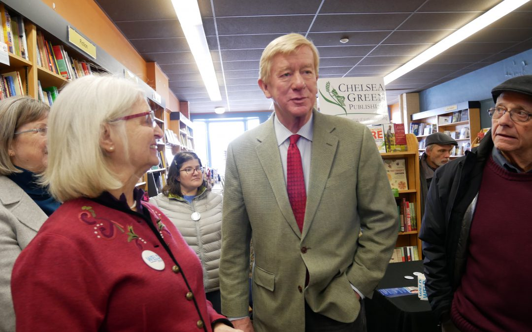 On eve of New Hampshire primary, insurgent candidate makes his play