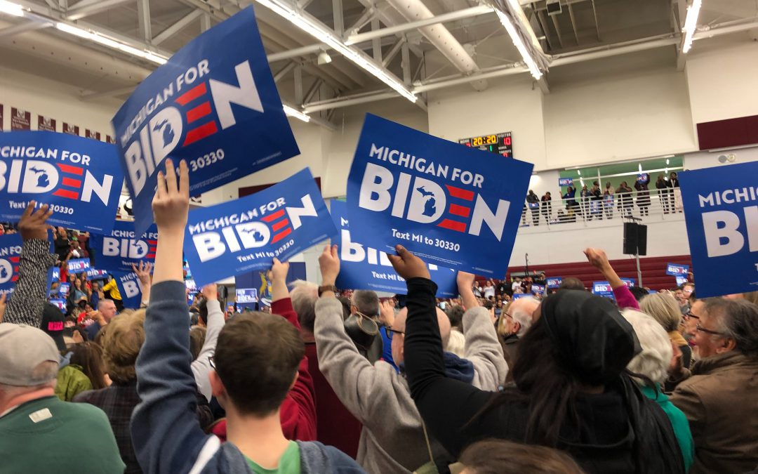 College students solidify support for Biden before Michigan primary election