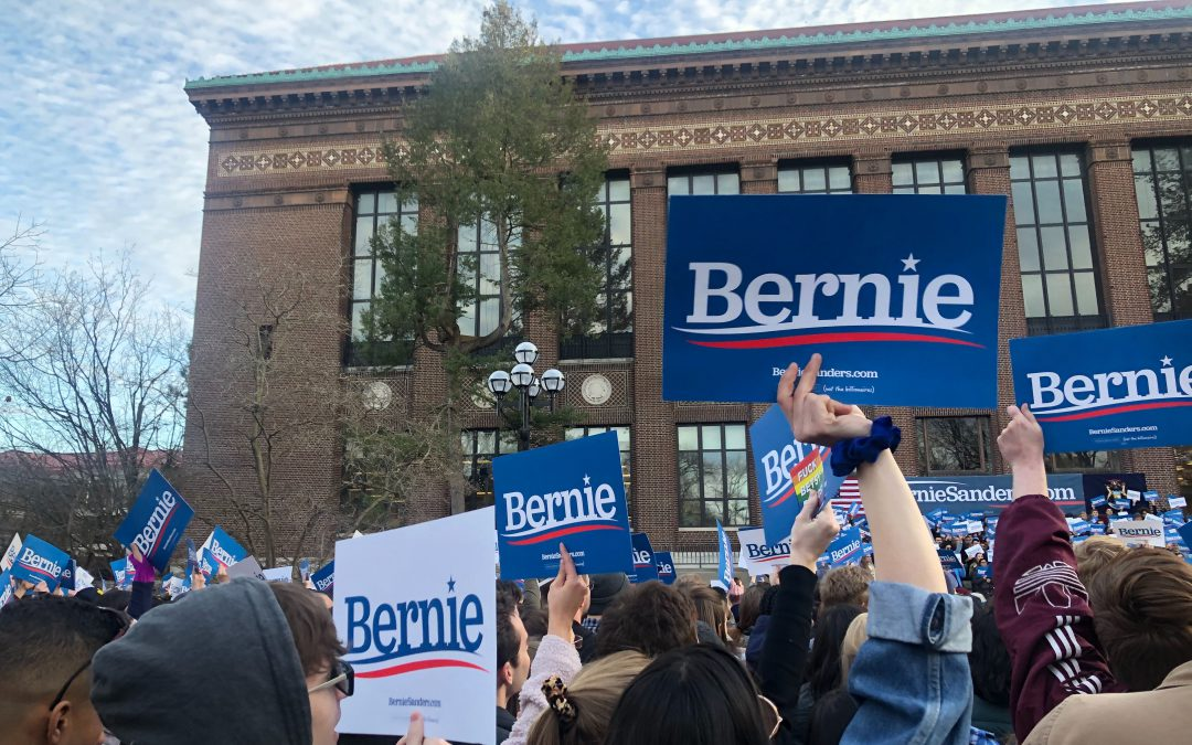 Sanders addresses progress, change before upcoming Michigan primary