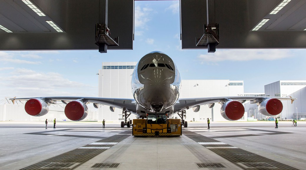 A new Airbus A380