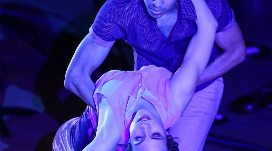 Two DanceWorks Chicago members