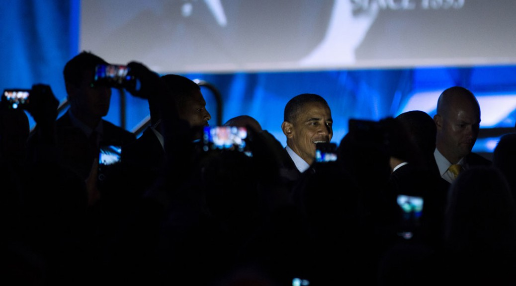 Obama at IACP