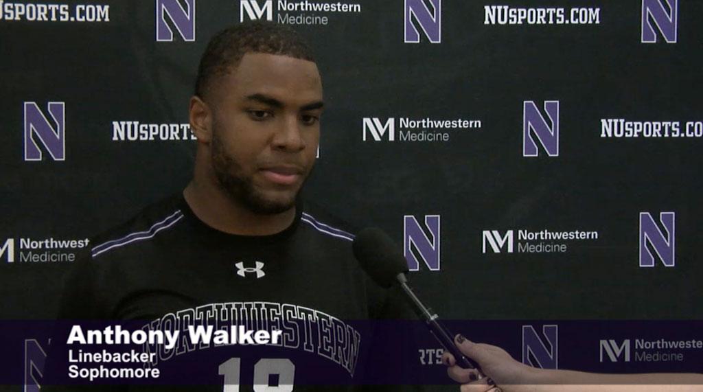 Anthony Walker of Northwestern