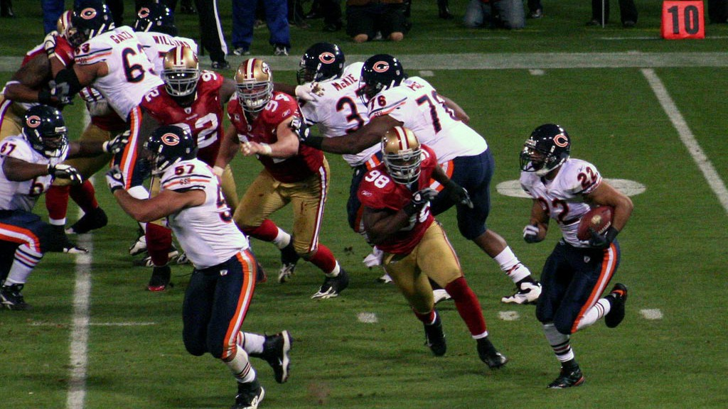Chicago Bears Action