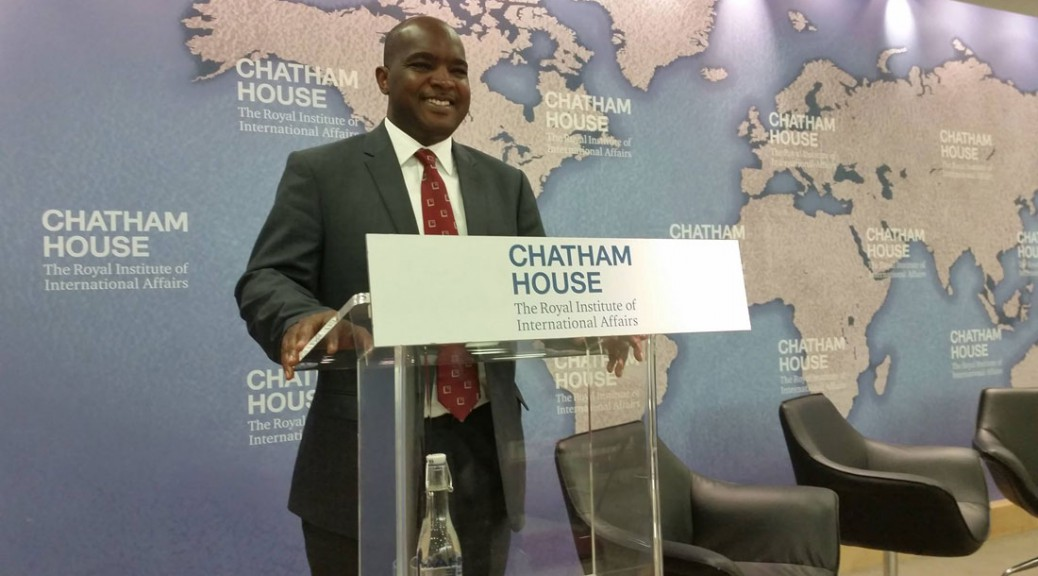 Alie Kabba, Chicago leader and Sierra Leonean presidential candidate
