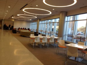 Malcolm X College Student Lounge Area
