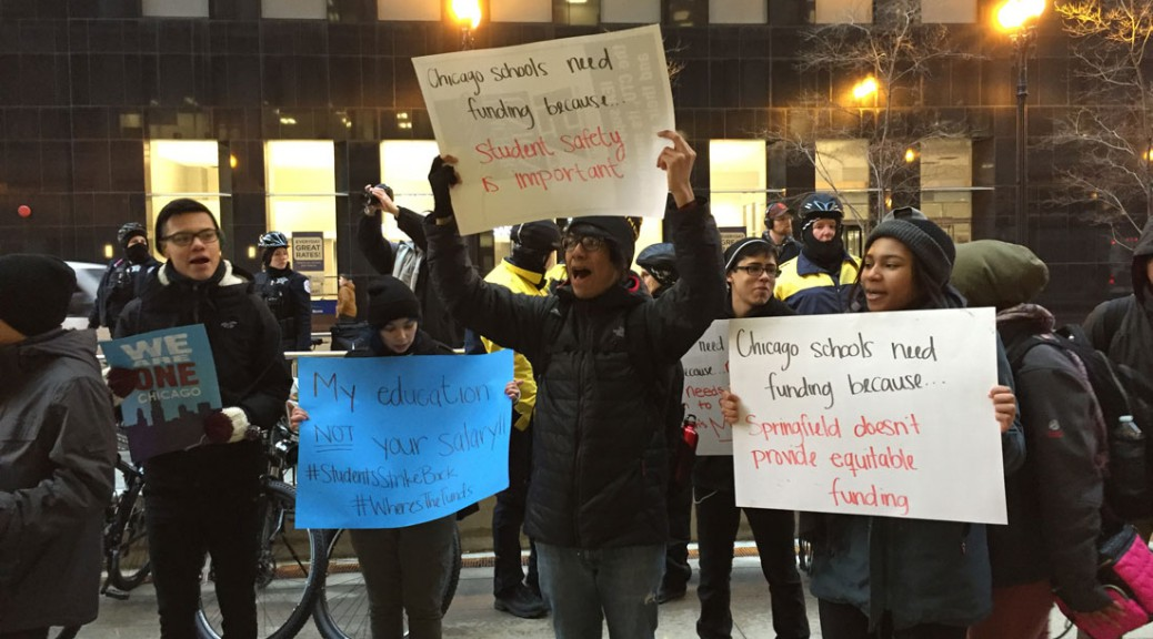 CPS student protest