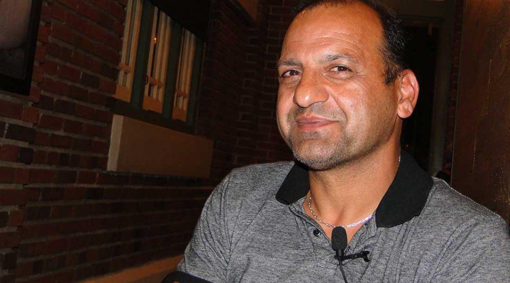 Tooraj Talebi, a Baha'i refugee, came to the U.S. 30 years ago