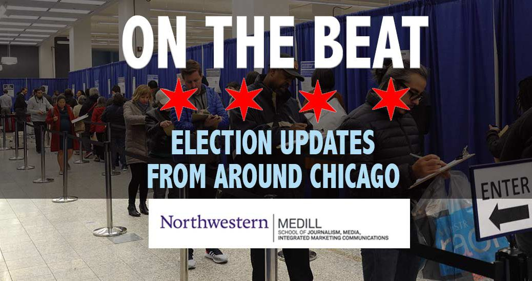 Medill Reports is covering the election today across various parts of the city of Chicago and the metropolitan area.