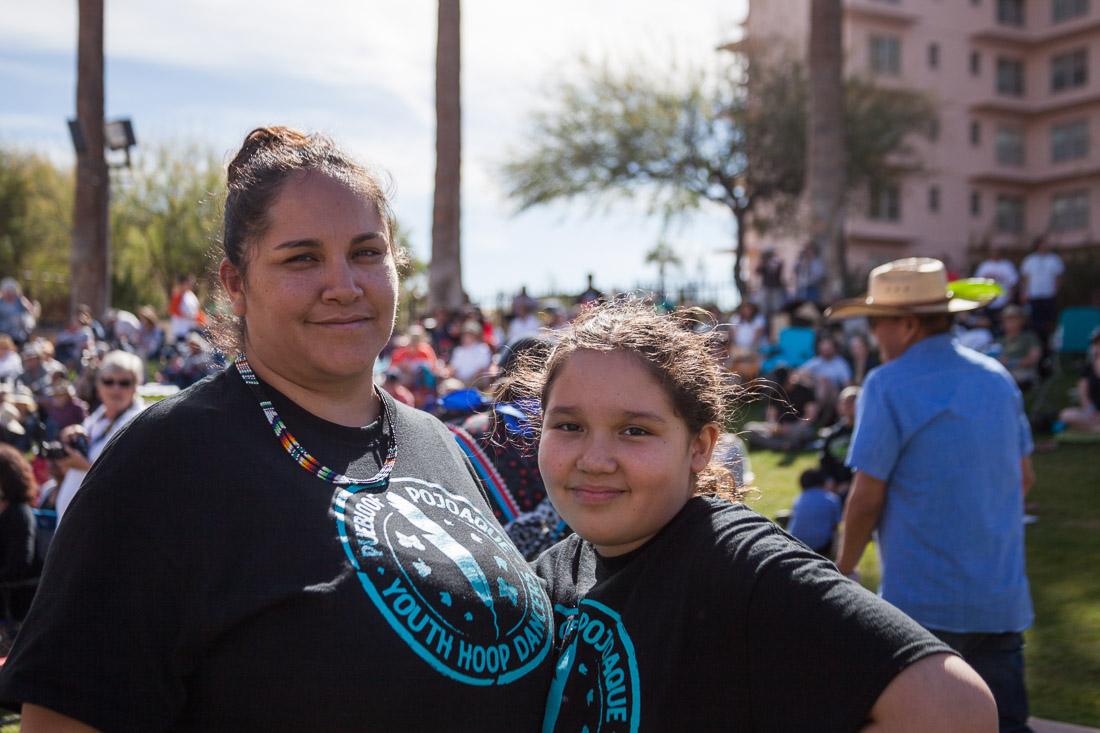 Jolene Vigio, Director of the Pojoaque Pueblo Dancers