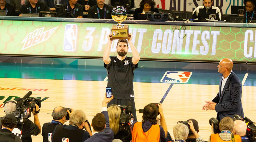 ASW 2019 Three-Point Champion Joe Harris