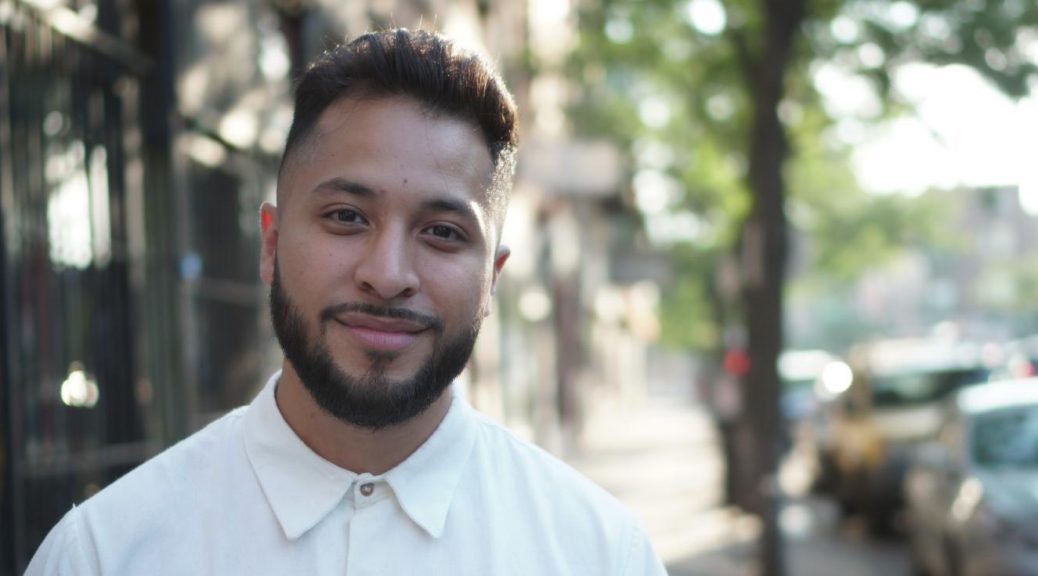 25-year-old Hilario Dominguez is campaigning to become the next alderman in the 25th ward. Dominguez is the youngest candidate in his race and grew up in the ward.