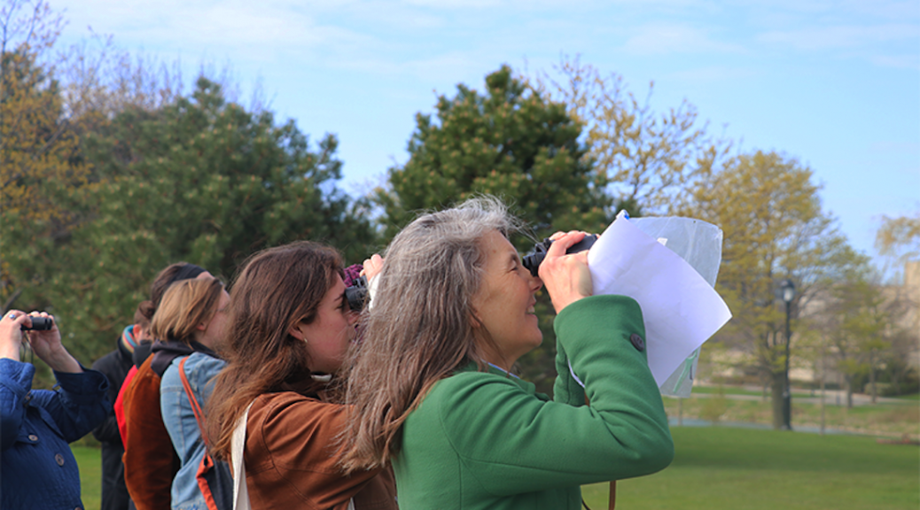 Migratory birds settling in Northwestern's Evanston campus for the spring provided a backdrop for community members to explore the area's natural landscapes and the strong indigenous presence that still resides there.