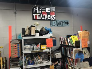 The free section for teachers.