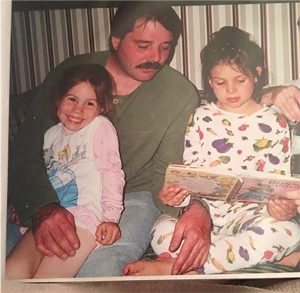 Dad, Sister and I