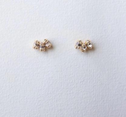 The London Earrings Crystal