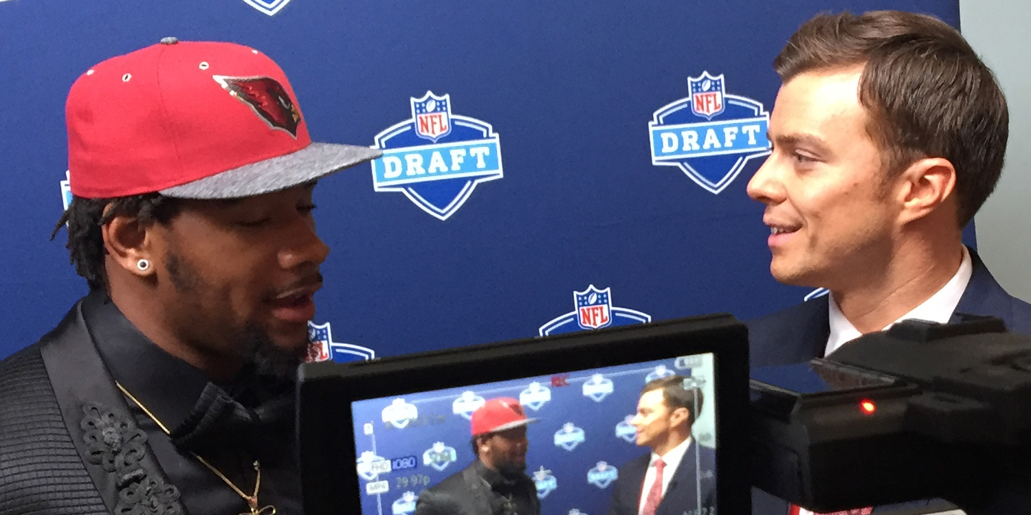 My experience covering the NFL Draft: Chris Hayre