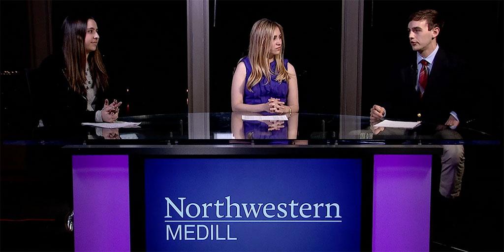 Medill Sports Talk pilot episode