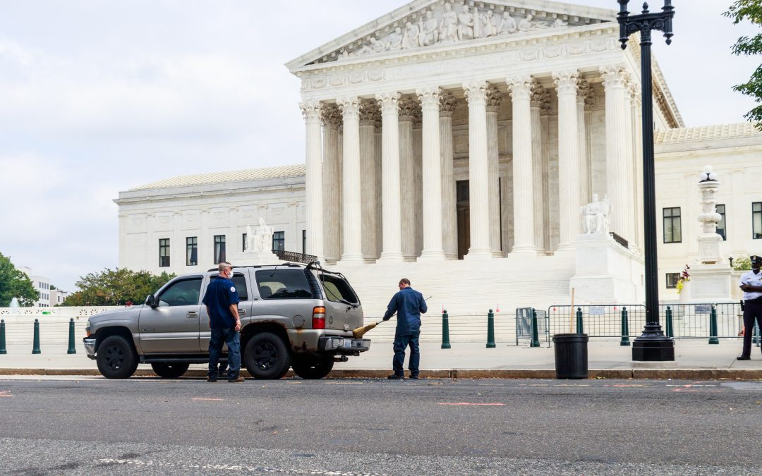 Supreme Court security scare: Michigan man arrested by Capitol Police raid team