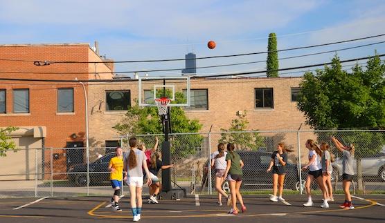 Flow basketball