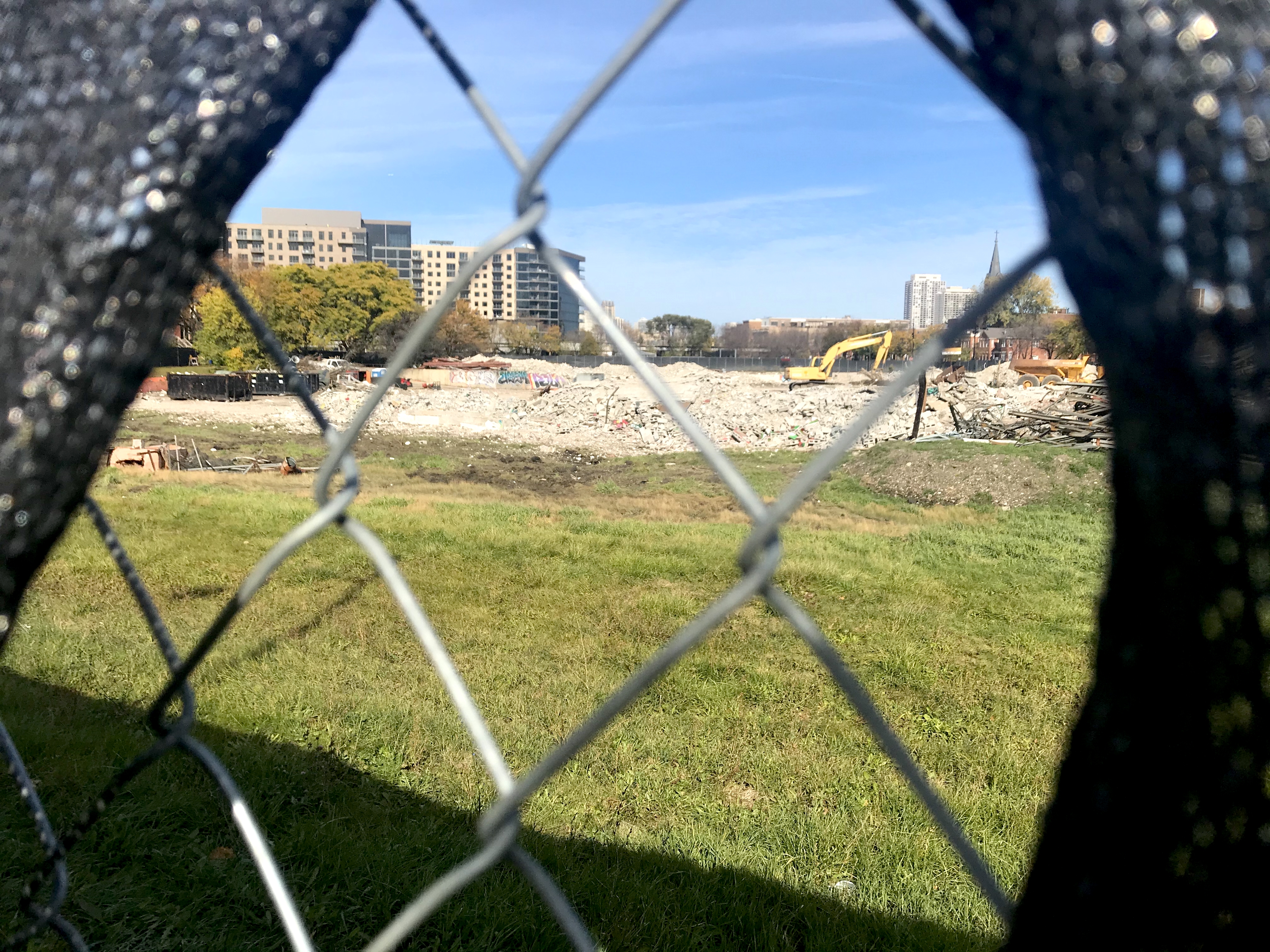 New constructions are being done in the former Cabrini-Green neighborhood