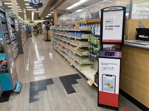 Terraboost Wellness Kiosk in Jewel Osco