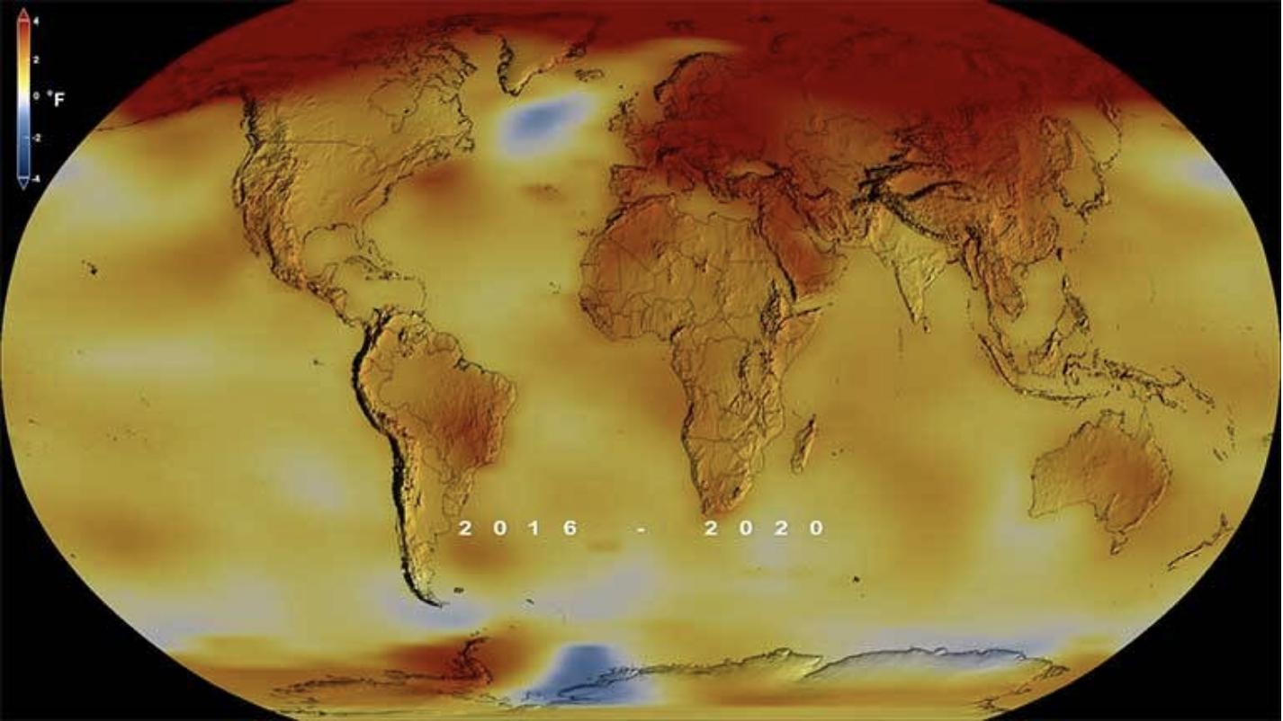 2020 Global Temperature