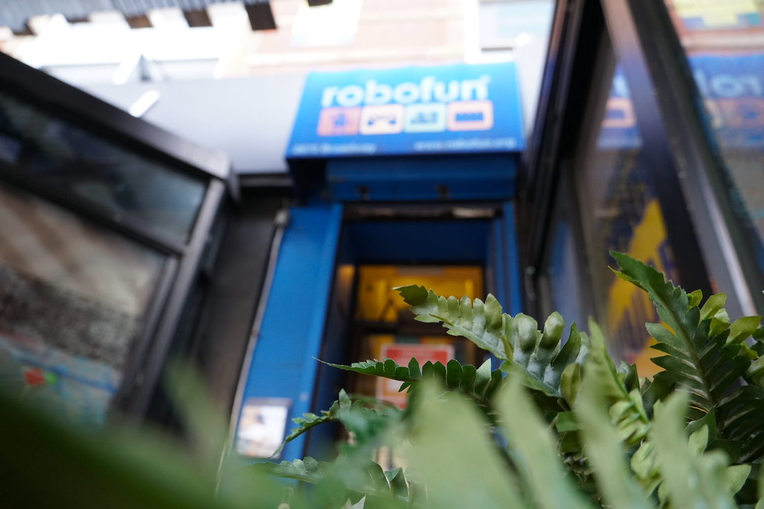 Robofun, an afterschool STEM enrichment program, operates out of its classroom studio on the Upper West Side of Manhattan. They have been offering online classes to students pre-K through sixth grade during the pandemic. (Ester Wells/Medill)