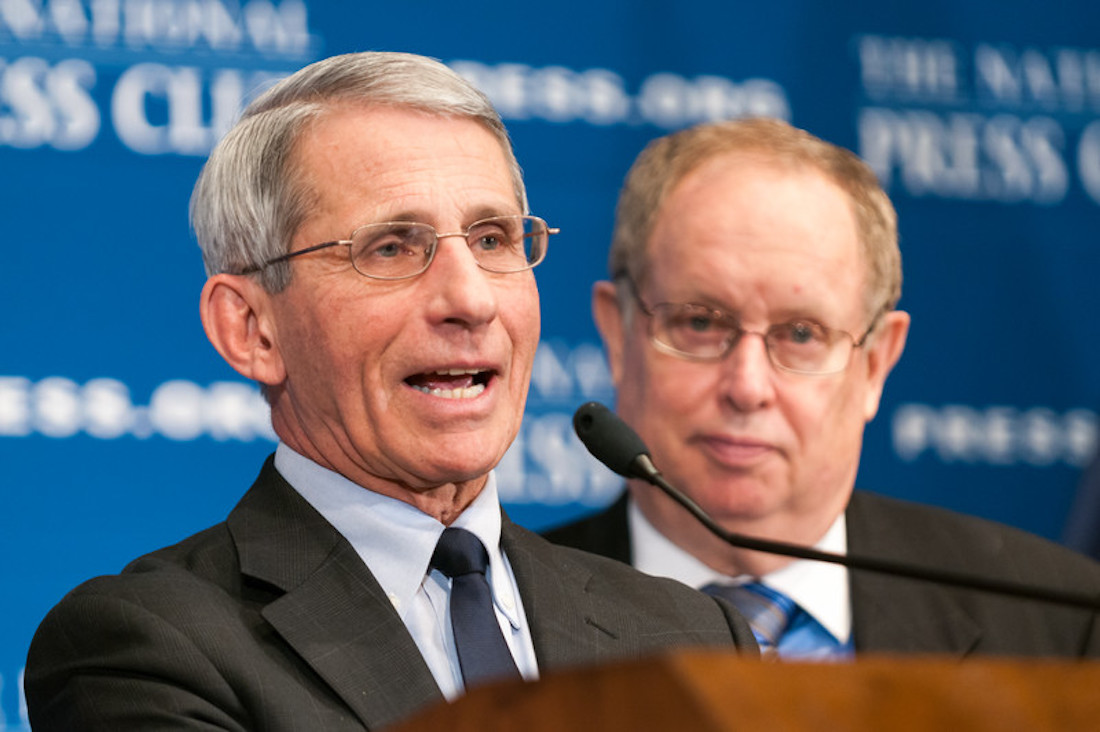 Dr. Fauci Speaks on COVID