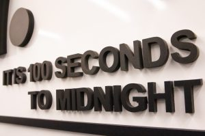Doomsday Clock 2021