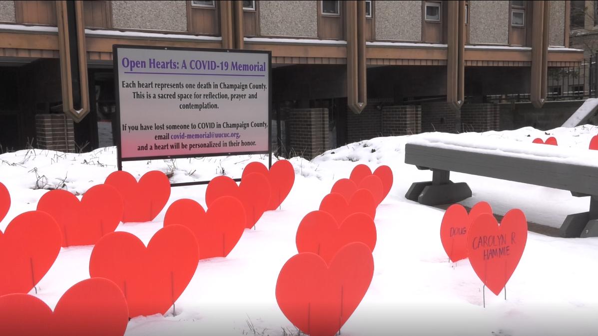 Open Hearts: a COVID-19 memorial