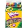 24 Lápices De Color Twistables
