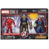 Marvel Iron Man Mark L, Thanos & Doctor Strange Marvel 10Th Anniversary Hasbro