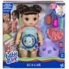Baby Alive Bebé Va Al Baño Muñeca Castaña Hasbro