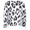 Suéter  Color Blanco Combinado Studio Si