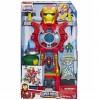 Marvel Cuartel General de Iron Man Playskool  Hasbro