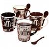 Set De Tazas Para Café Bareggio Mr. Coffee