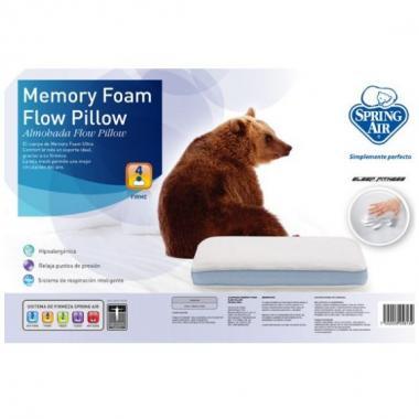 Almohada Memory Foam Mesh Spring Air