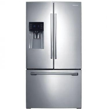 Refrigerador Samsung French Door 26 Pies Easy Clean Steel