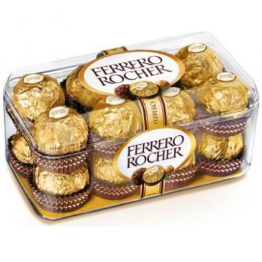 Estuche De 16 Chocolates Ferrero Rocher