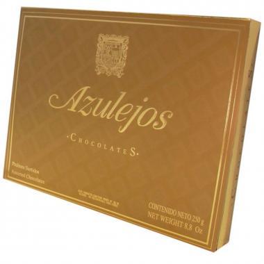 Caja De Chocolates Estuche Dorado 250 Gr Sanborns