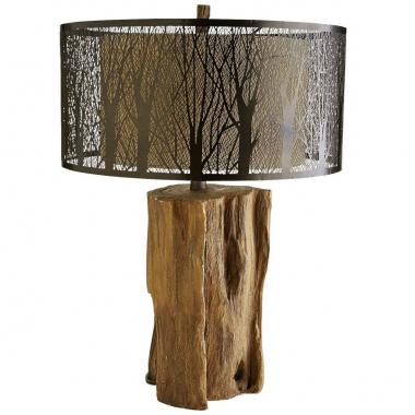 Lámpara Etched Birches Pier 1 Imports
