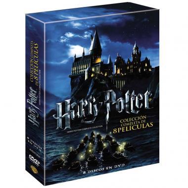 Dvd Harry Potter Colección Completa