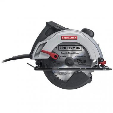 Sierra Craftsman Circular 7 1/4 12.0 Amp