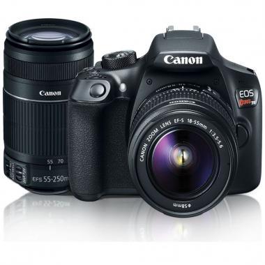 Cámara Canon Rebel T6 Ef-S 18-55mm/55-250mm