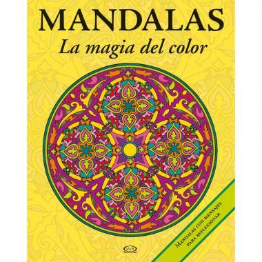 Mandalas La Magia Del Color 3 Amarillo Vergara & Riba