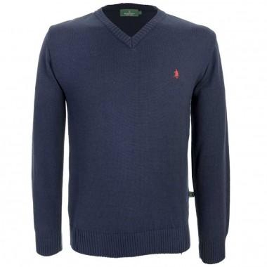 Suéter básico cuello V Polo Club