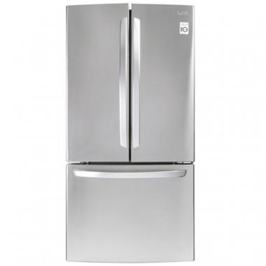 Refrigerador Lg French Door  24 Pies Acero Inoxidable