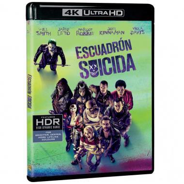 Blu Ray 4k Uhd Escuadrón Suicida
